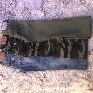 Set of Boys True Religion Pants